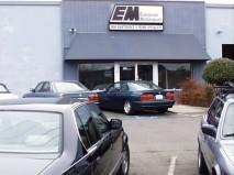 Storefront of BMW specialists European Motorsport service Chico CA